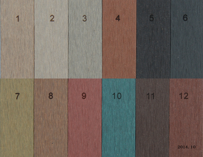 Hot Sale Wood Plastic Composite Decking for Outdoor Flooring (M39)