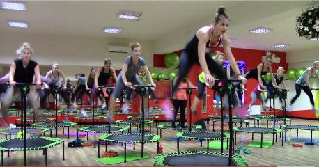 Gymnastic Commecial Jumping Bed Trampoline