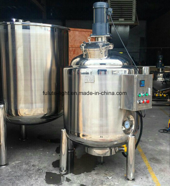 Jacketed Stainless Steel Boiled Mixing Tank