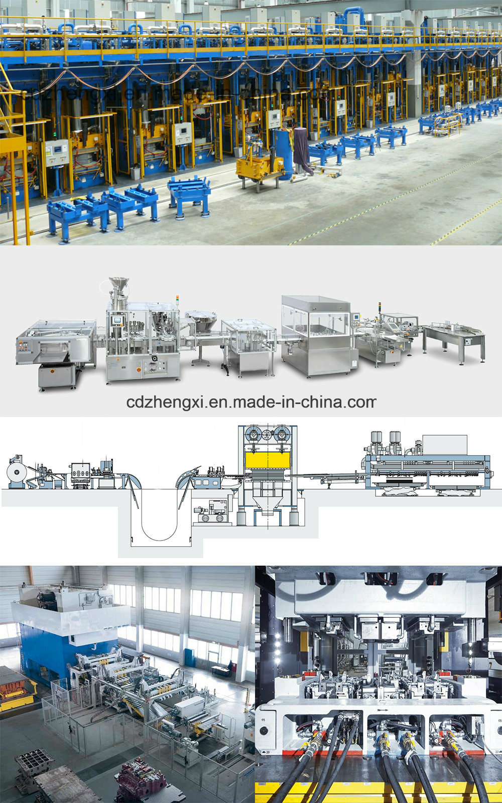 Armored Vehicleproduction Line Deep Drawing Hydraulic Press 2300 Ton/4000 Ton