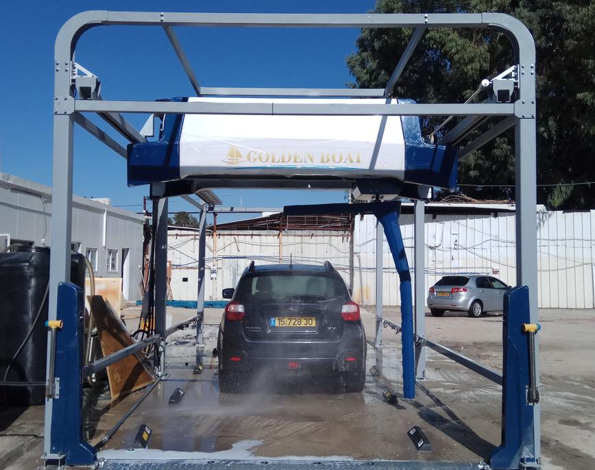 Automatic Steam Car Wash Machine