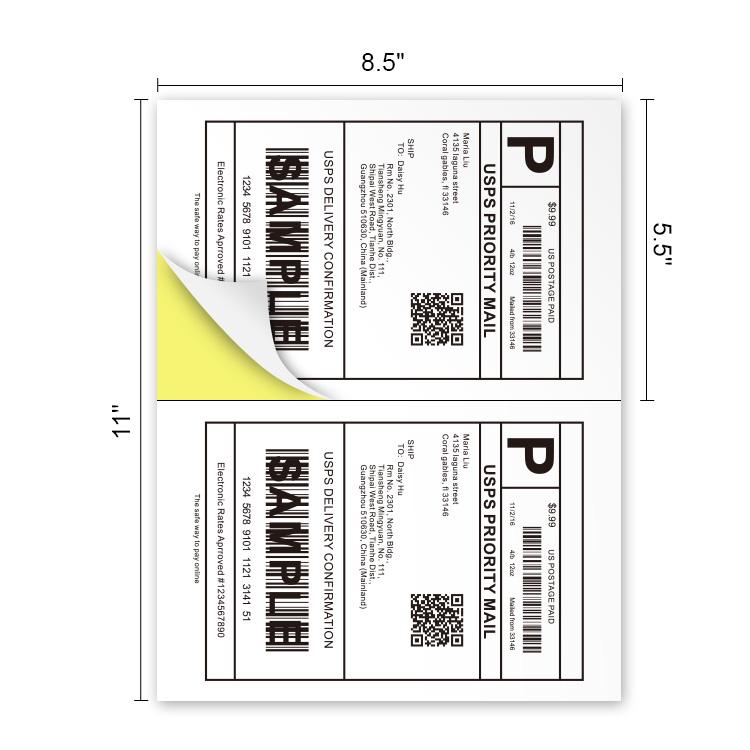 a4 paper sticker