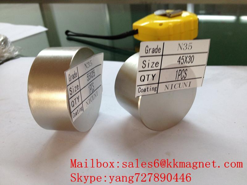 permanent magnet 45X30 stop water magnet D45X30mm