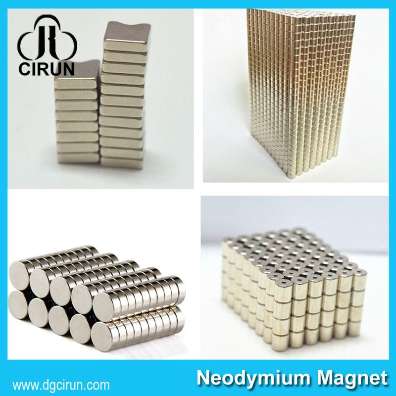 China Manufacturer Super Strong High Grade Rare Earth Sintered Permanent Speaker Magnet/NdFeB Magnet/Neodymium Magnet