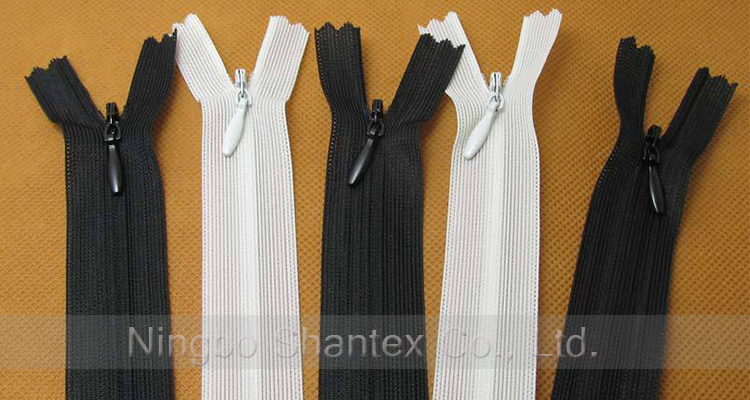 #3 Nylon Conceal Long Chain Lace Invisible Zipper for Garment