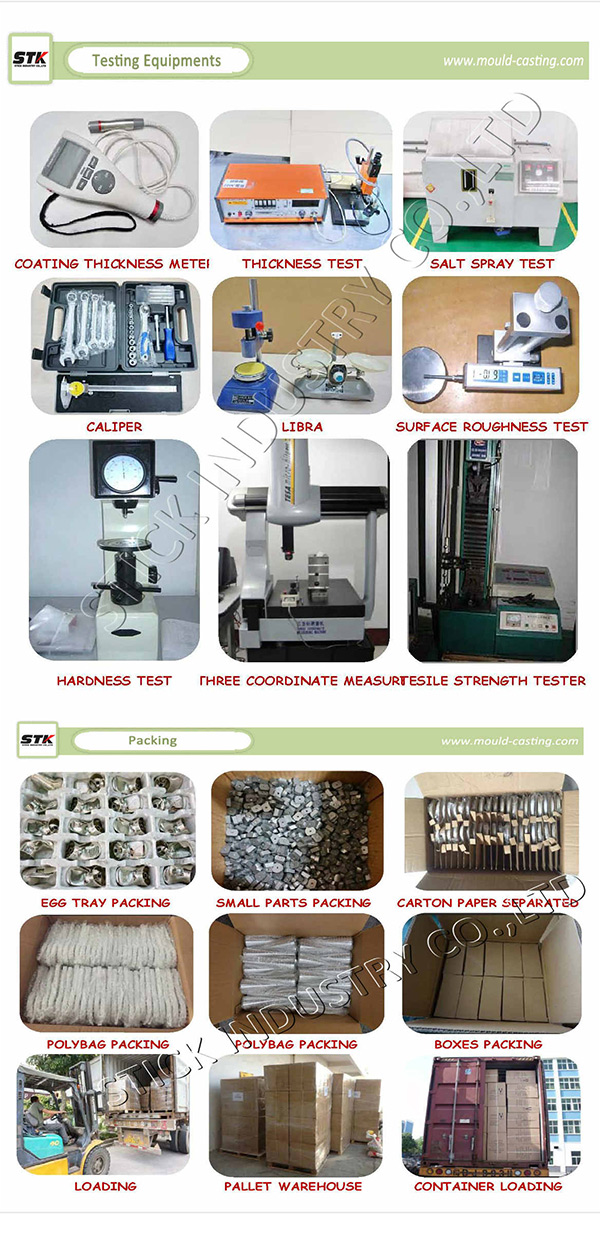 Alloy Aluminum Die Casting for Mechanical Component (STK-ADO0017)