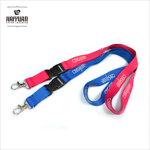 Promotional Silk Screen Printing Polyester Lanyard
