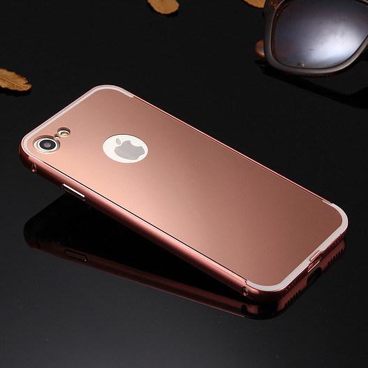 Aluminum Metal Mirror Smartphone Case for iPhone 7 7plus