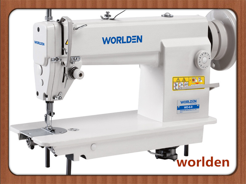 Wd-6-9 High Speed Single Needle Lockstitch Industrial Sewing Machine