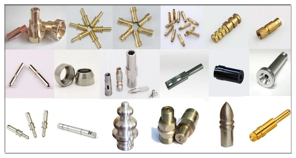 Brass Machining Parts Precision Machined Brass Telecommunication Connector