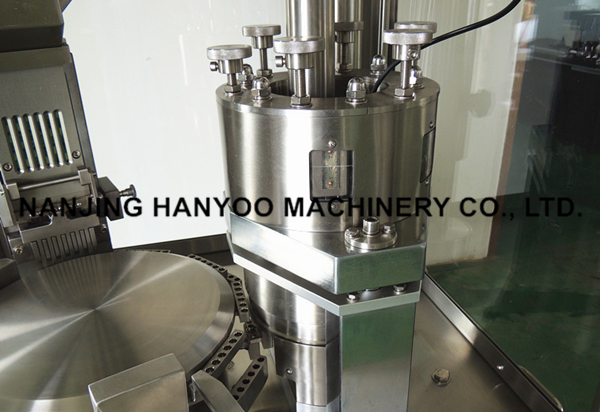 Made in China Automatic Capsule Filling Machine for Hard Gelatin Capsules #00 #0 #1