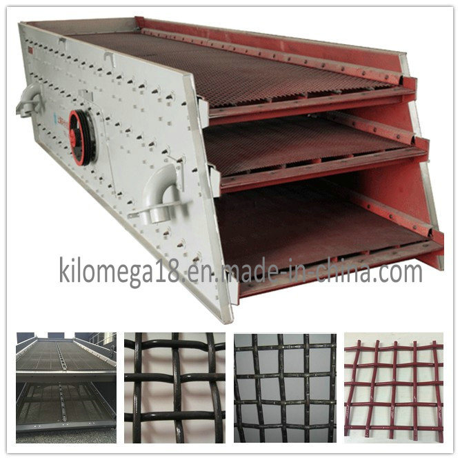 Crimped Wire Mesh with High Carbon Steel for Crusher