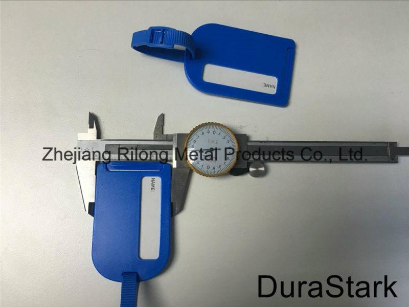 Fashion Adjustable Lugague Tag Listing with Buckles (DR-Z0199 B)