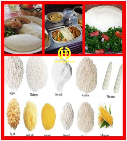 Professional Maize Flour Grinding Line