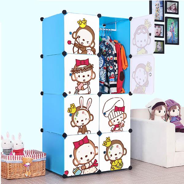 Chindren Cartoon Toy Storage Organizer Box Home furniture