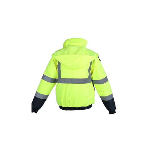 100% Polyester Lightweight Waterproof Safety Jacket