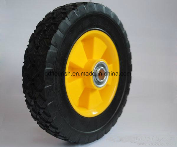 10 Inch Trolley Solid Powder Rubber Wheel Tyre Tire