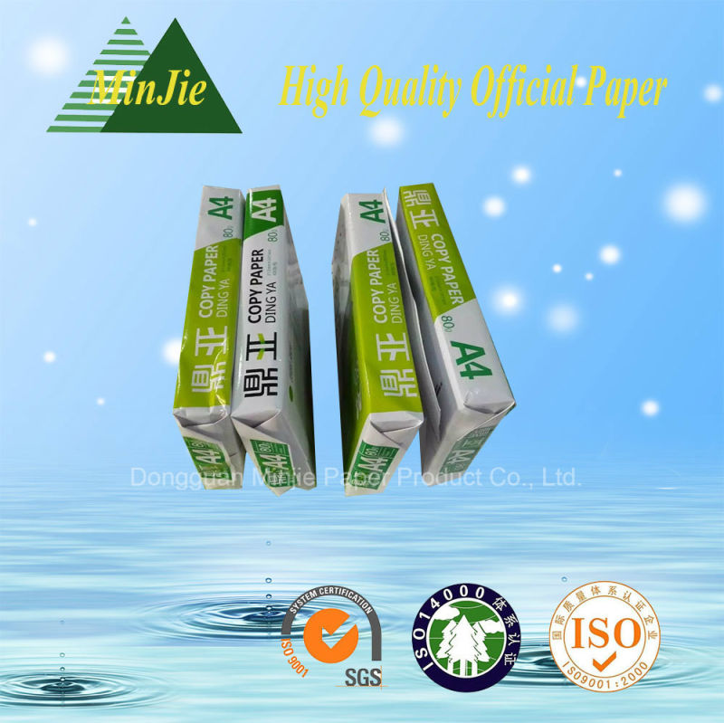 Factory Direct Sale 80GSM A4 Copy Paper with Low Price