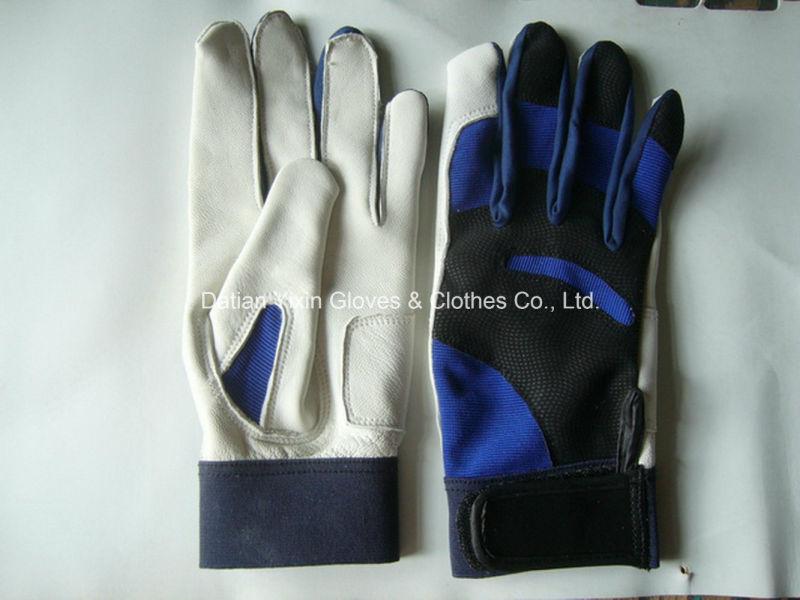 Sport Glove-Sheep Leather Glove-Baseball Glove-Safety Glove-Goatskin Glove