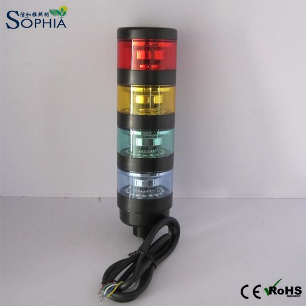 IP67 4 Stacks Revolving LED Signal Tower Light