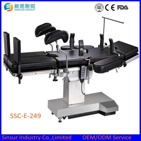 Hospital Use OT Extra Low Electric Multi-Function Medical Operating Table
