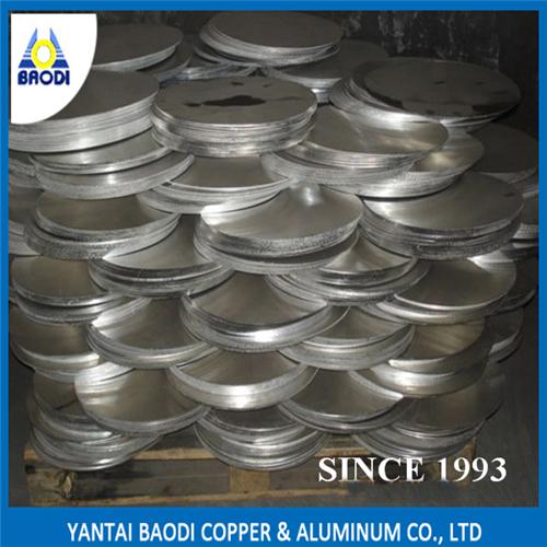 1050 1060 1100 3003 Hot Rolled Aluminium / Aluminium Circle for Cookers