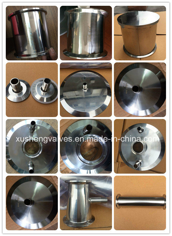 Sanitary Stainless Steel SS304 SS316L Clamping Pipe Spool