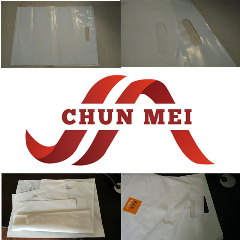 Customized Shipping Waterproof Plastic Hand Bag/Handbag