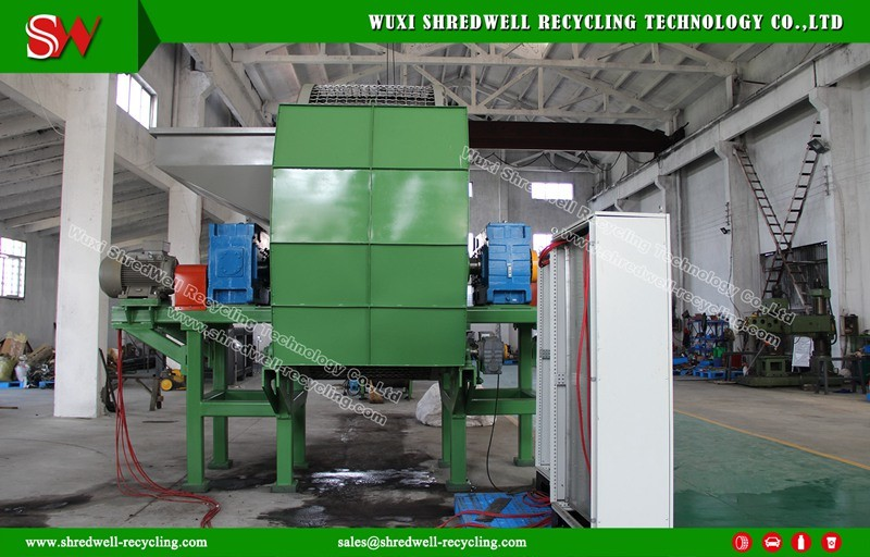 Two/Double/Twin Shaft Machine for Scrap Metal/Alluminum/Copper Recycling