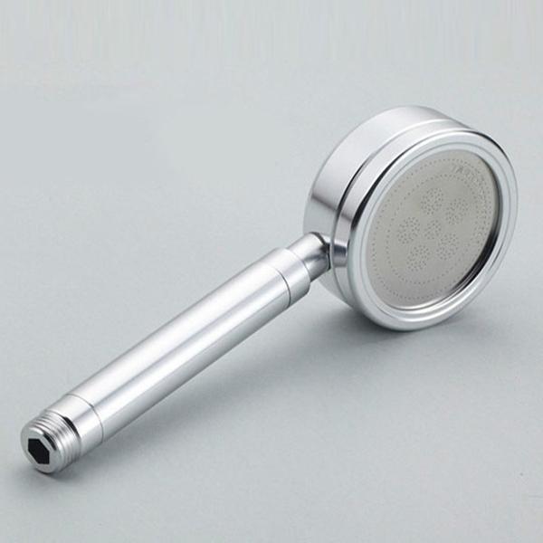 High Pressure Aluminum Water Saving Hand Held Showerhead Bathroom Rainfall Shower Kit