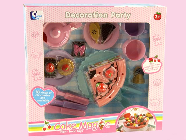 Cake Magcic of Kitchen Play Set for Children