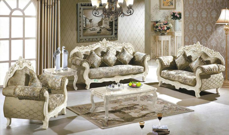 Classic Sofa Set for Home Furniture and Hotel Furniture (929M)