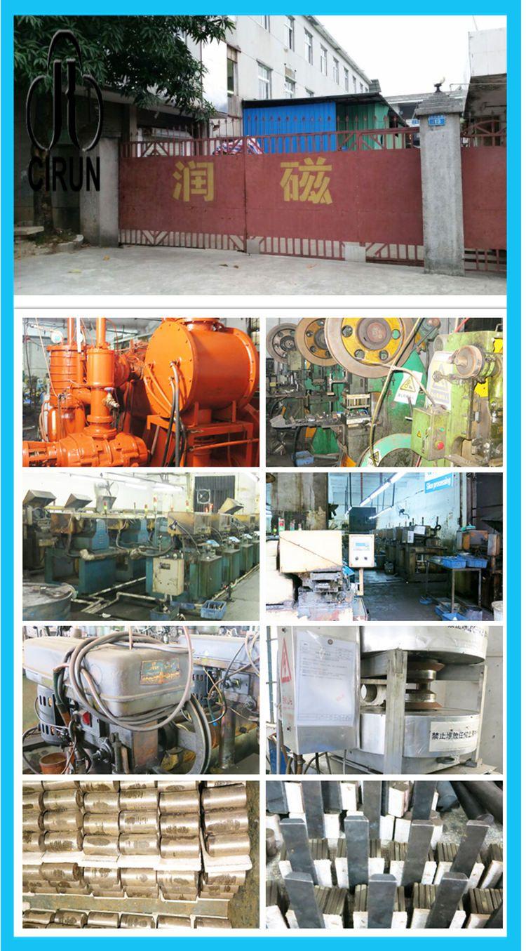 China Manufacturer Super Strong High Grade Rare Earth Sintered Permanent Separator Magnet/NdFeB Magnet/Neodymium Magnet