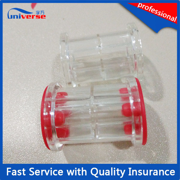 High Quality Plastic Clear Small Mini Empty Wire Spool