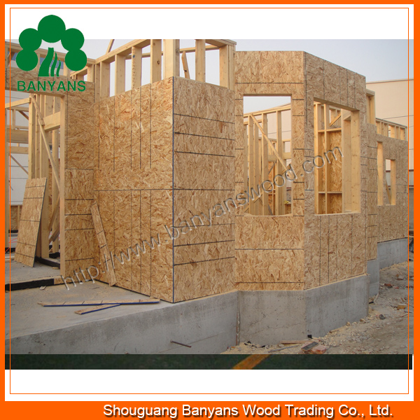 OSB for Exterior Use, Oriented Strand Board