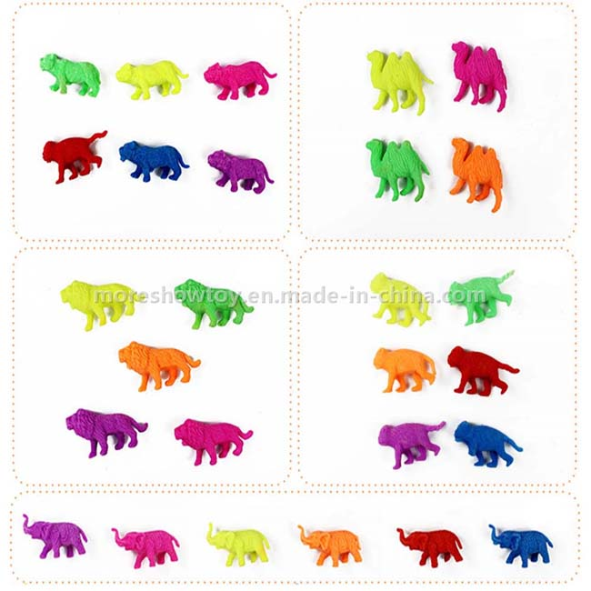 Wholesale Magic Forest Animals Expand Plastic Growing Water Toys