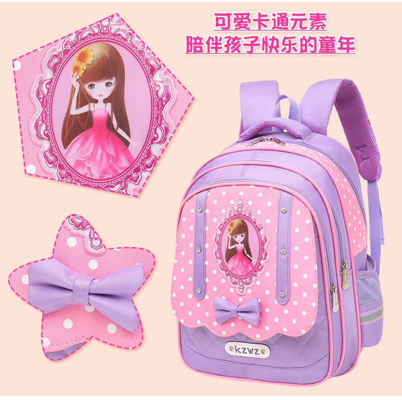 Cute Cartoon Student Backpack Shoulder Bag School Bag