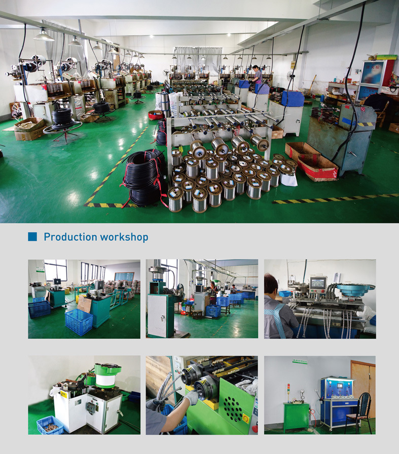 SS304 Braided Metal Flexible Hose for Basin Inlet (HY6351)