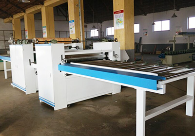 Woodworking Double Sizes Paper Sticking Line