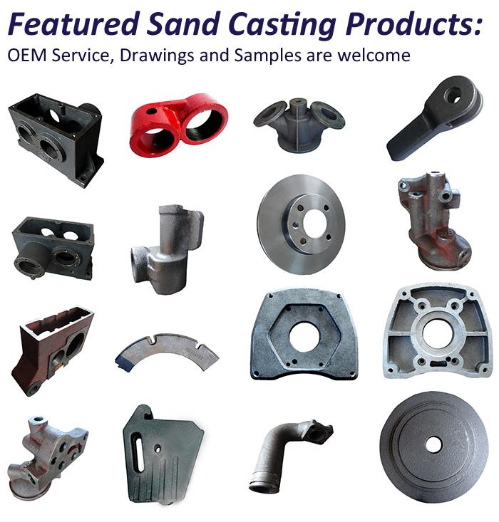 OEM Sand Casting Iron Gate Valve Body