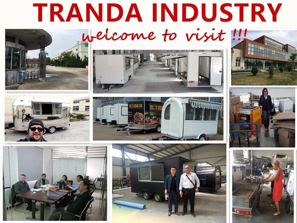 Manila Mobile Car Pasta Caravan Trailer Towable Concession Trailers