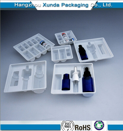 Plastic Vial Packaging Tray Blister Vial Tray