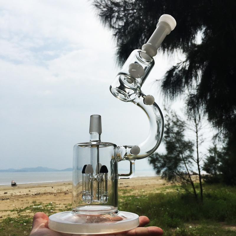Darwin's Microscope Elegant Enjoyment Design Glass Smoking Water Piepes (ES-GD-281)