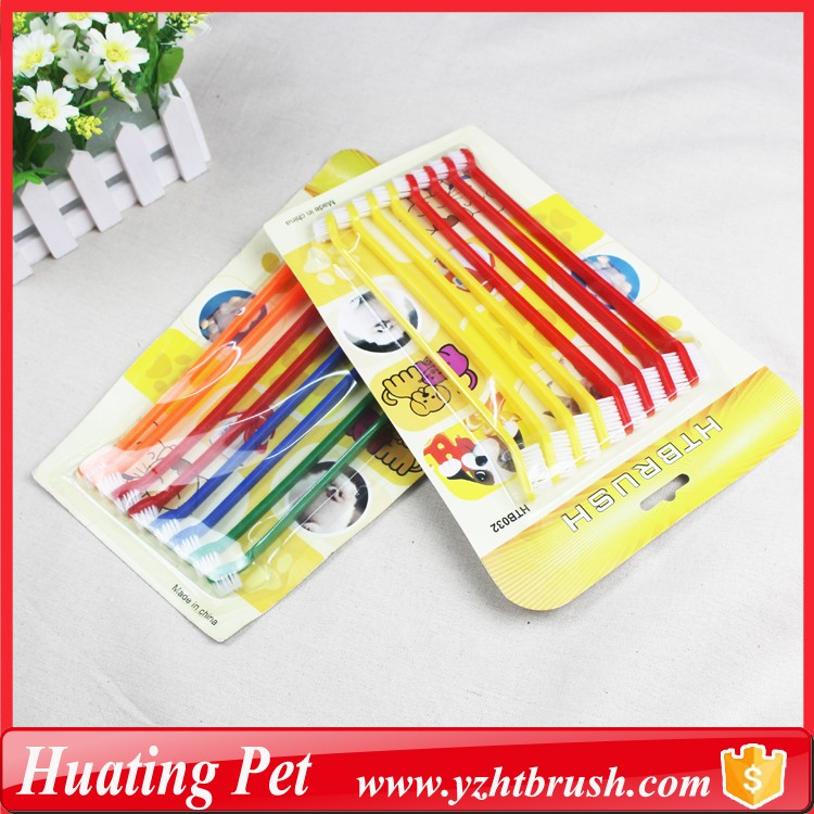 pet oral brush 8pcs