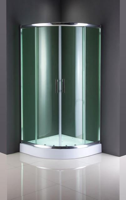 Eastern European Popular Shower Enclosure Glass Shower Door