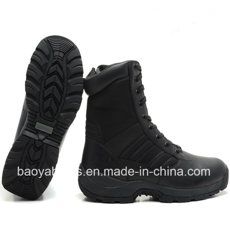 Good Quality Unisex Police Tactical Boots Army Boots (1861)