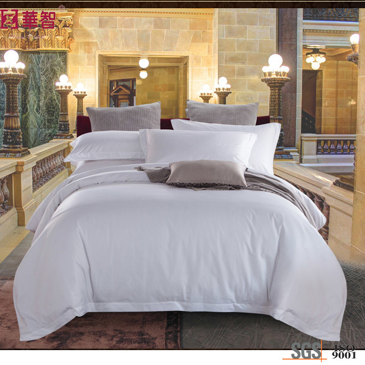 High Quality Jacquard Hotel White Bedding Sets