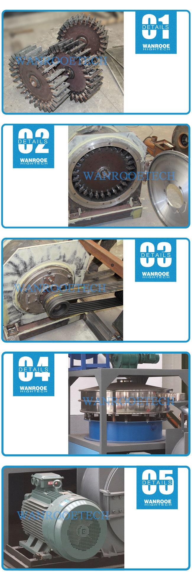 Pnmp Grinding Disc Rigid PVC UPVC Plastic Powder Pulverizer Machine
