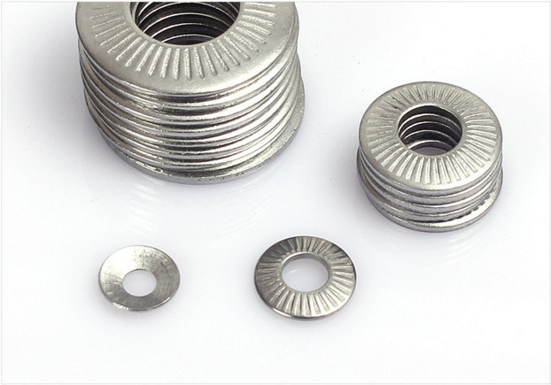 M14 M16 A2 A4 Stainless Steel Knurled Disc Spring Washer