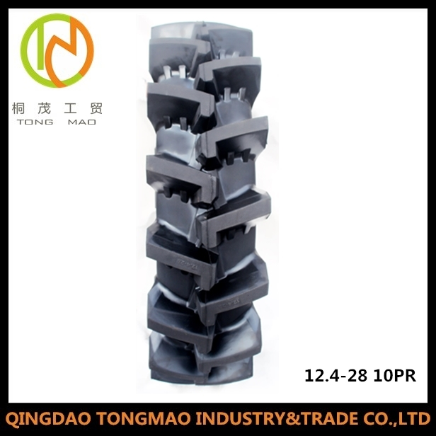 Deep Tread Pattern Rubber Agricultural Tractor Tyre for Irrigation (12.4-28)
